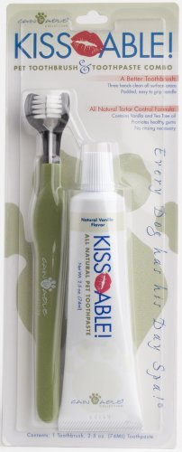 Cain And Able Kissable Toothbrush And Toothpaste