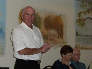 Bobby Mahoney, restaurateur, businessman, community leader and amateur comedian.