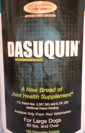 Dasuquin is our number one choice in cartilage-protecting neutraceuticals.