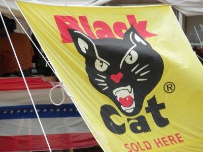 Black Cat:  America's favorite firecracker