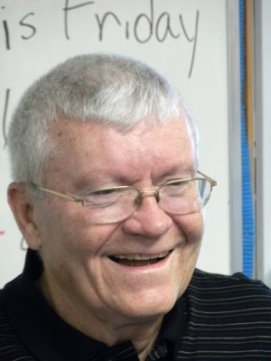 Hometown boy made good:  Astronaut Fred Haise.