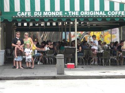 The ORIGINAL Cafe du Monde:  where beignets taste best!