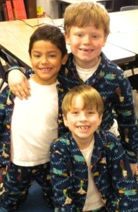 The Pajama Triplets!