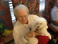 Willie Visits Nursing Home Residents